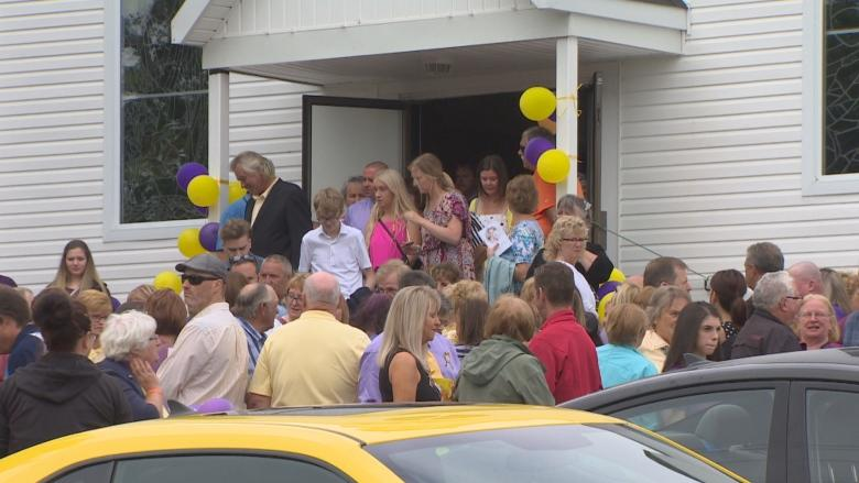 'A beautiful little soul': Nevaeh Denine's funeral draws crowds, motorcade in Goulds