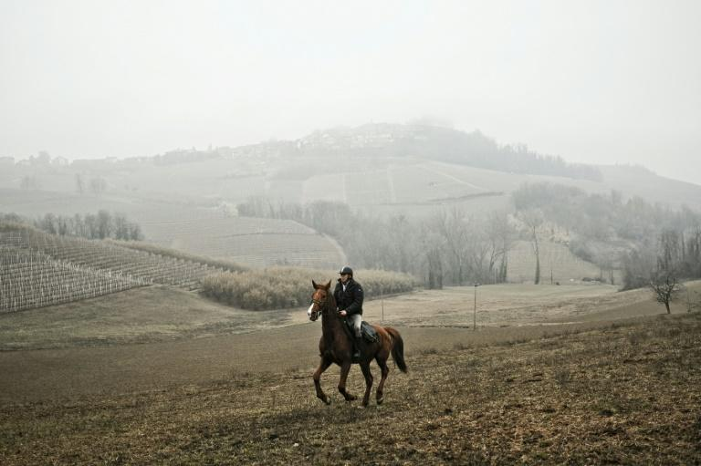 Italian doctor Roberto Anfosso makes his house calls on horseback in the rural, northern Piedmont region, which has an ageing population