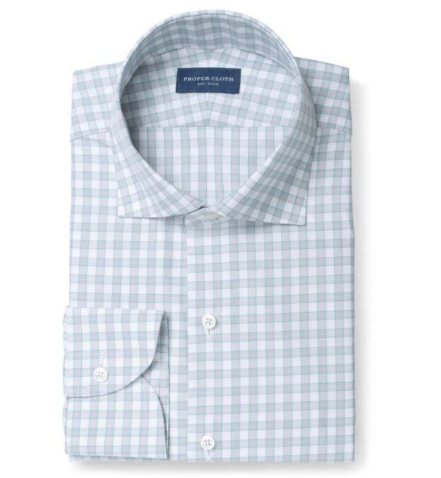 """<p><strong>Proper Cloth</strong></p><p>propercloth.com</p><p><strong>$140.00</strong></p><p><a href=""""https://propercloth.com/dress-shirts/como-green-and-pink-check-380197.html"""" rel=""""nofollow noopener"""" target=""""_blank"""" data-ylk=""""slk:Shop Now"""" class=""""link rapid-noclick-resp"""">Shop Now</a></p><p>Once you give dad a custom shirt, he'll never want to go back to off-the-rack.</p><p><strong>More</strong>: <a href=""""https://www.townandcountrymag.com/style/mens-fashion/g816/mens-summer-shirts/"""" rel=""""nofollow noopener"""" target=""""_blank"""" data-ylk=""""slk:Preppy Men's Shirts to Wear this Summer"""" class=""""link rapid-noclick-resp"""">Preppy Men's Shirts to Wear this Summer</a></p>"""