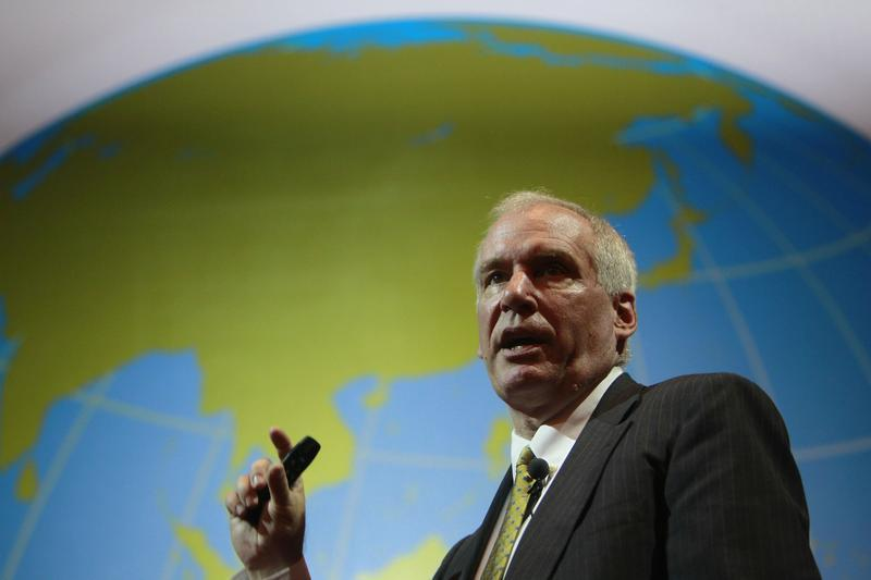 Boston Fed President Rosengren speaks during the Sasin Bangkok Forum