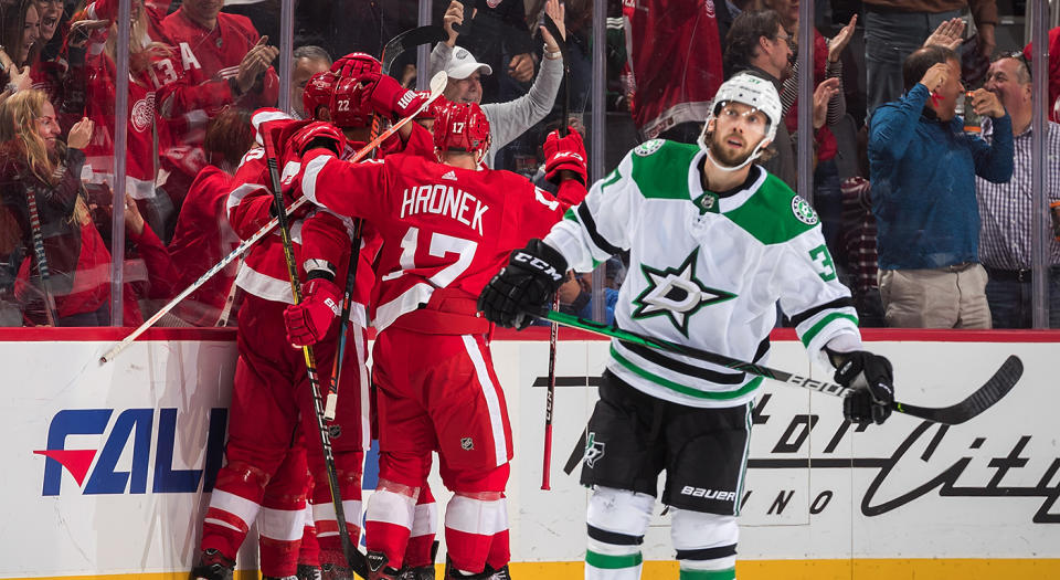 The Stars aren't yet looking like the contenders many predicted they would be. (Photo by Dave Reginek/NHLI via Getty Images)