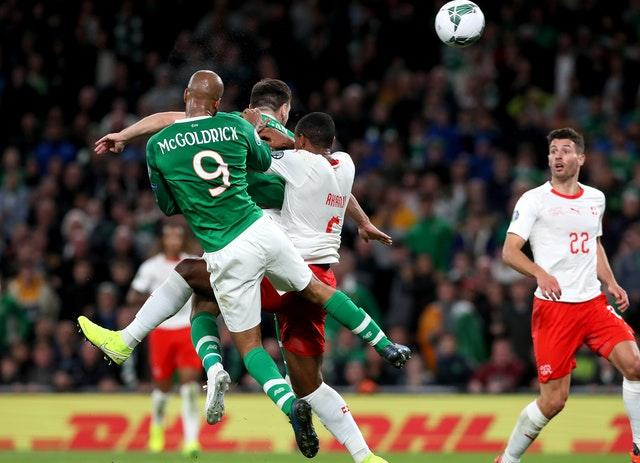 David McGoldrick equalised with just five minutes left on the clock (Brian Lawless/PA)