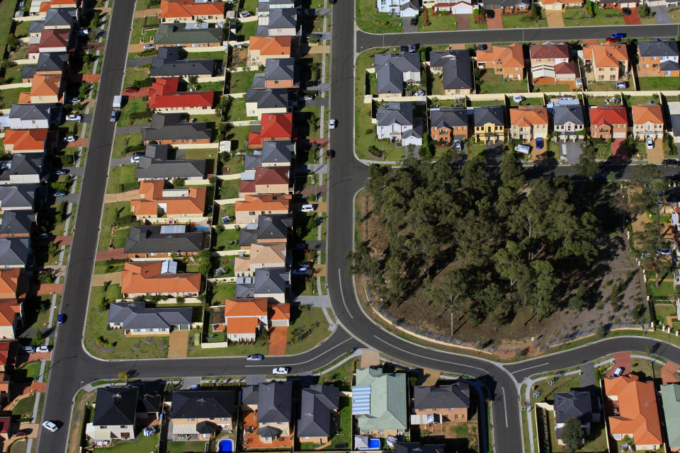 House prices have dropped by more than a fifth in some areas. Source: Getty Images