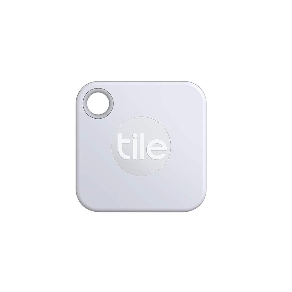 <p>With this <span>Tile Mate with Replaceable Battery</span> ($25), you'll never lose your keys or wallet again!</p>