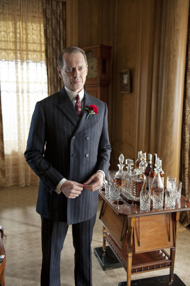 "Steve Buscemi stars as Nucky Thompson in Season 3 of ""Boardwalk Empire"" on HBO."