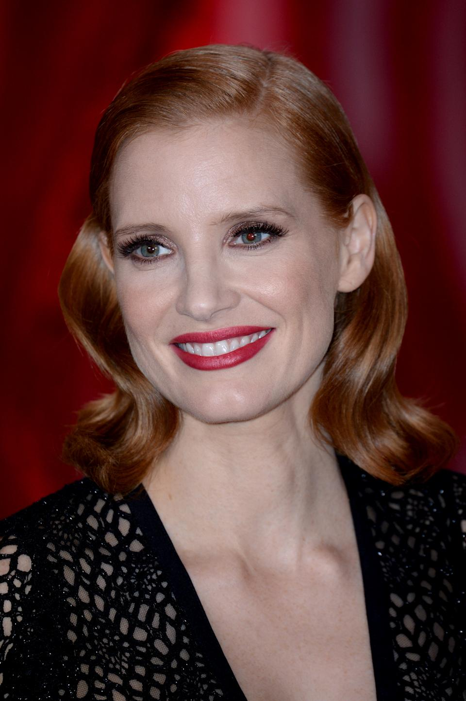 Jessica Chastain. (Photo by Eamonn M. McCormack/Getty Images)