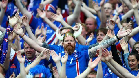 Iceland fans