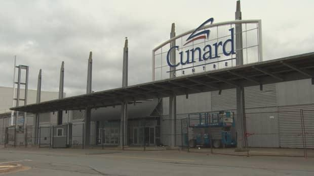 Halifax's Cunard Centre, which is currently under renovation, has hosted large-scale events in the city for years.  (Steve Lawrence/CBC - image credit)
