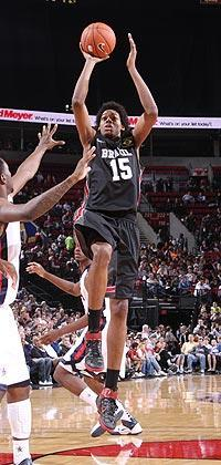 Lucas Nogueira is 7 feet tall and working to add strength to his 220-pound frame