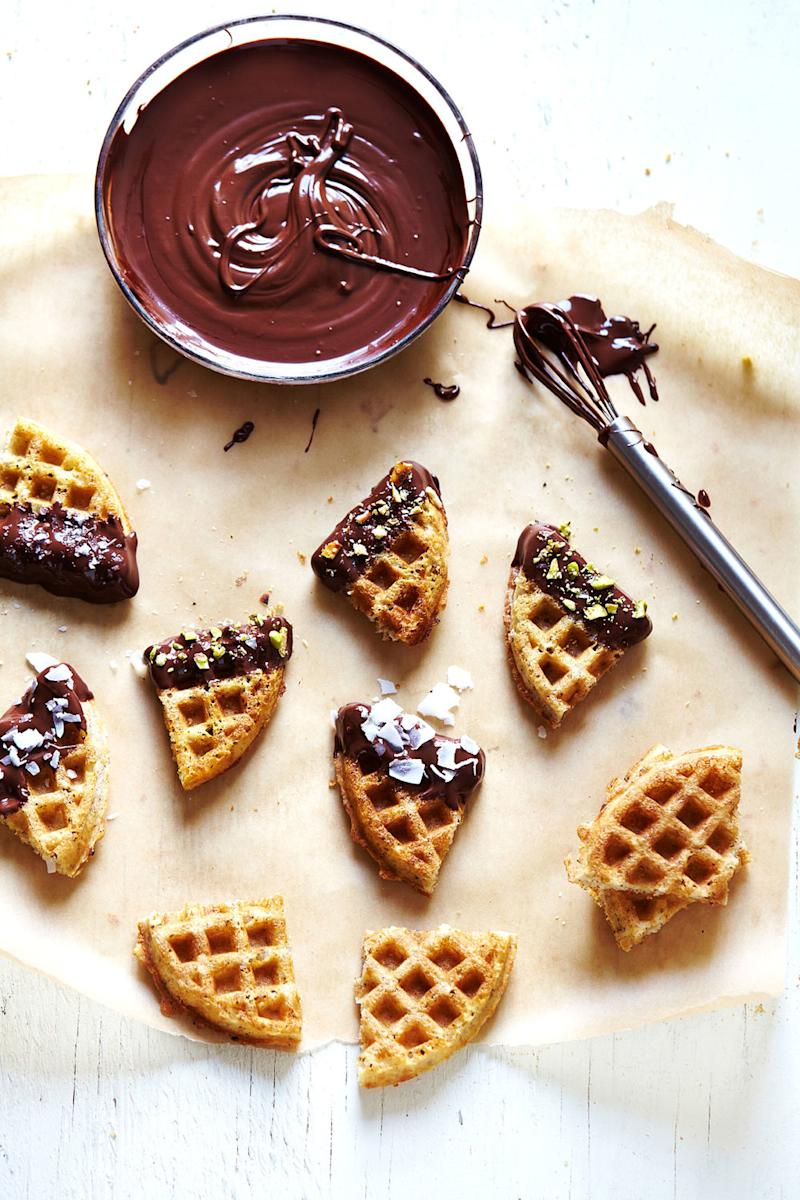 how to make a perfect waffle
