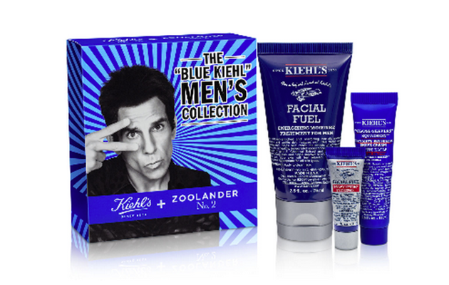 The Blue Kiehl's Men's Collection. (Photo: Kiehl's)