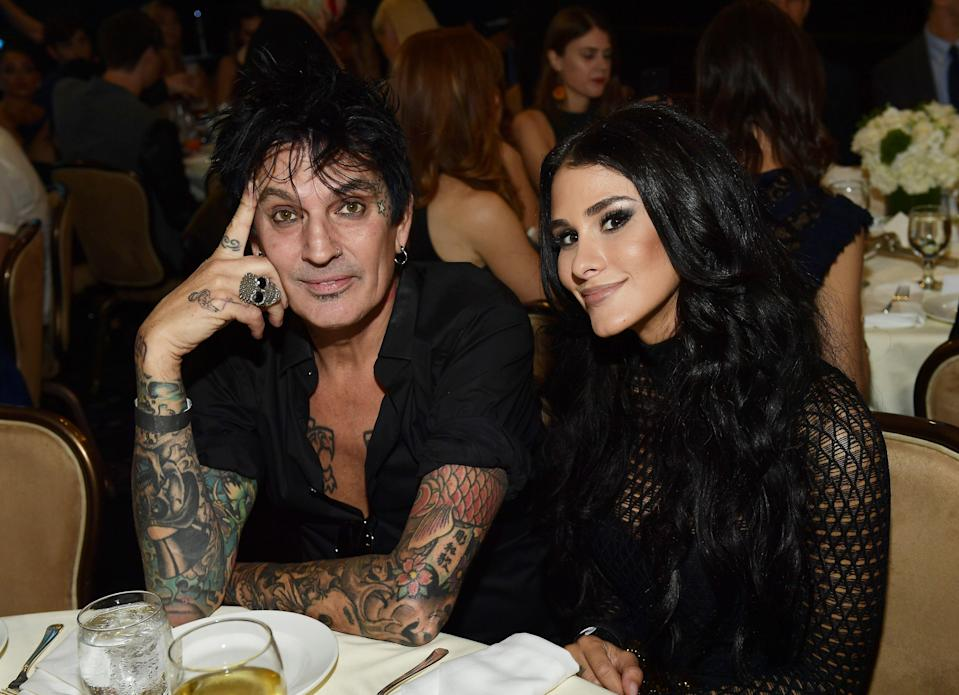 Tommy Lee and Brittany Furlan have tied the knot!