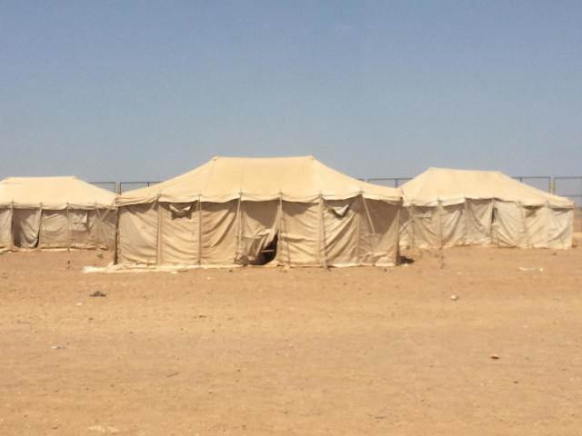 The Markazi refugee camp. (Photo: United Nations High Commissioner for Refugees)
