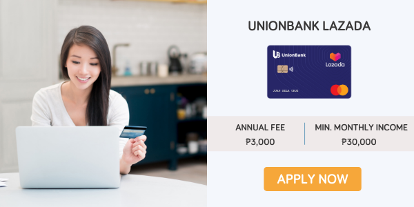 credit cards for women - unionbank lazada