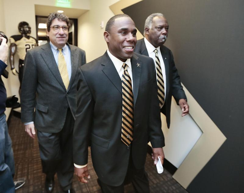New coach has high goals for Vanderbilt Commodores