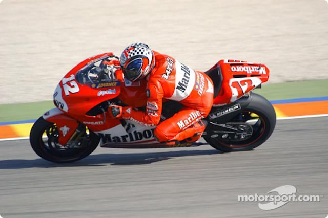"Troy Bayliss, Ducati <span class=""copyright"">Richard Sloop</span>"