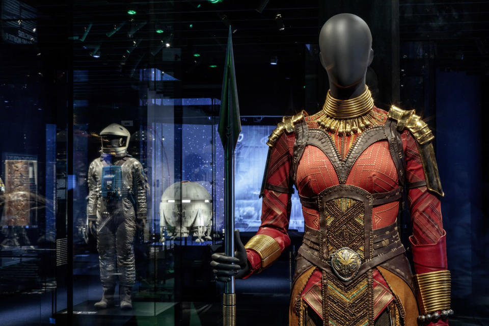 <p>As well as costumes like this one from <em>Black Panther. </em></p>