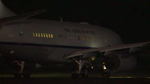 The jet cost taxpayers $30,000. Photo: 7 News