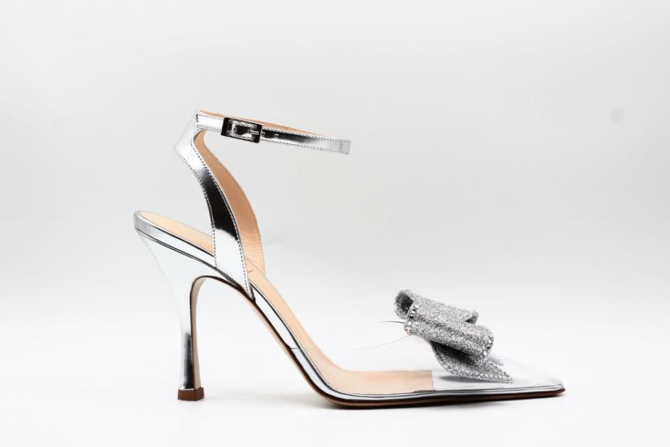 Nalebe's bow-accented pumps for spring '22. - Credit: Courtesy of Nalebe