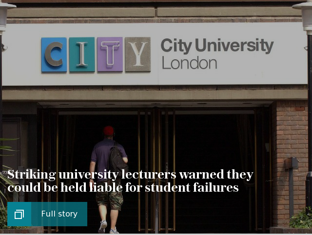Hope for end of university strike action as stalemate ends in pension dispute