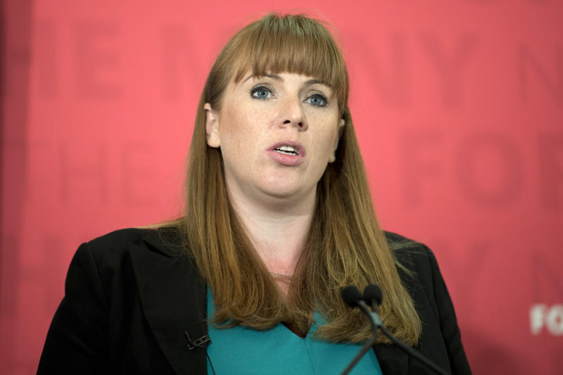 <strong>Angela Rayner has told HuffPost UK the Government must do more for Carillion apprentices</strong> (JUSTIN TALLIS via Getty Images)