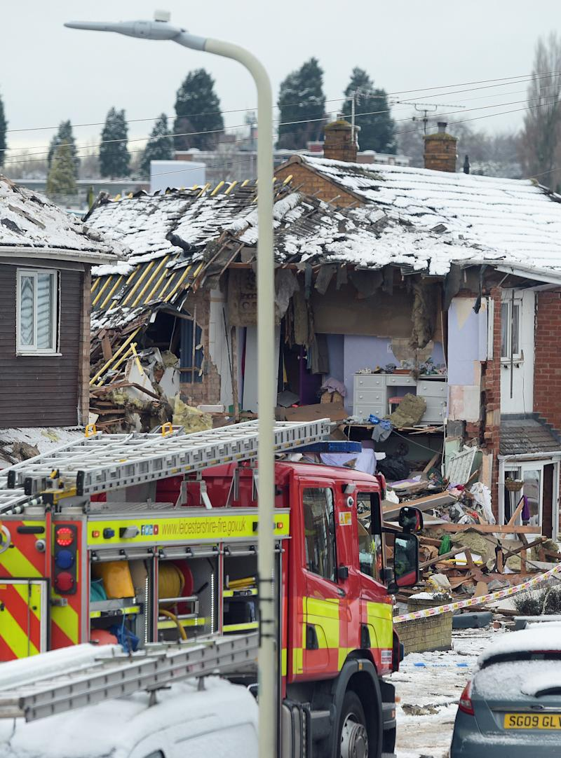 Everyone was accounted for after the explosion (Picture: PA)