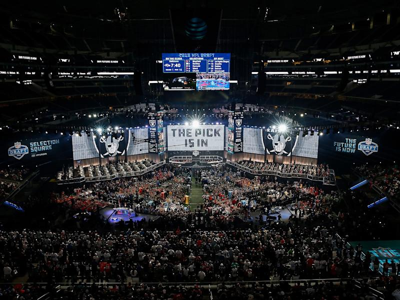 The NFL Draft is largely mundane, yet fans can't look away