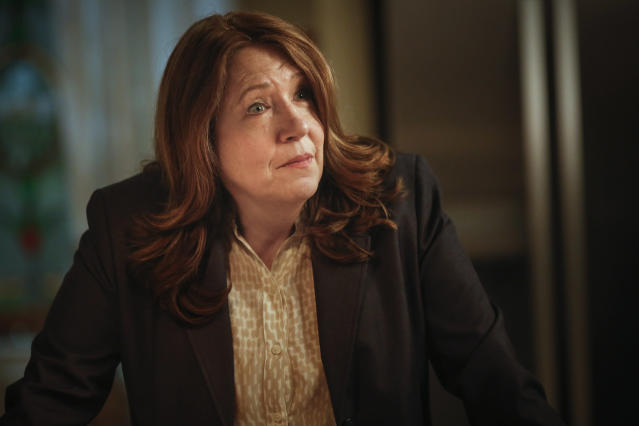 Ann Dowd as FBI agent Rhonda Lashever in <em>Good Behavior</em>. (Photo: TNT)