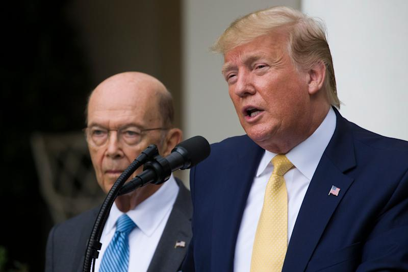 Democrats want Commerce Secretary Wilbur Ross to turn over records on President Trump's statements about Hurricane Dorian.