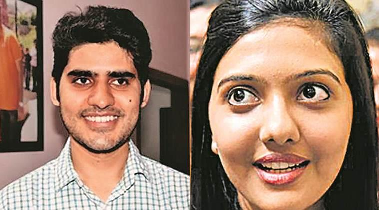 UPSC toppers, UPSC, Civil Services, civil services exam, Kanishak Kataria, Srushti Deshmukh, India news, Indian Express