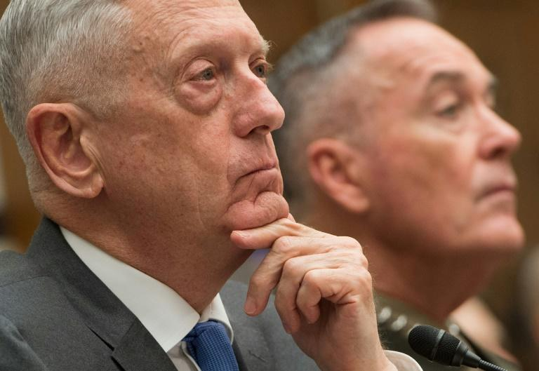 Trump condemns 'heinous' gas attack in Syria, Mattis faults Russian Federation