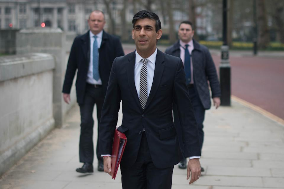 Chancellor of the exchequer, Rishi Sunak. Photo: Stefan Rousseau/PA via Getty Images