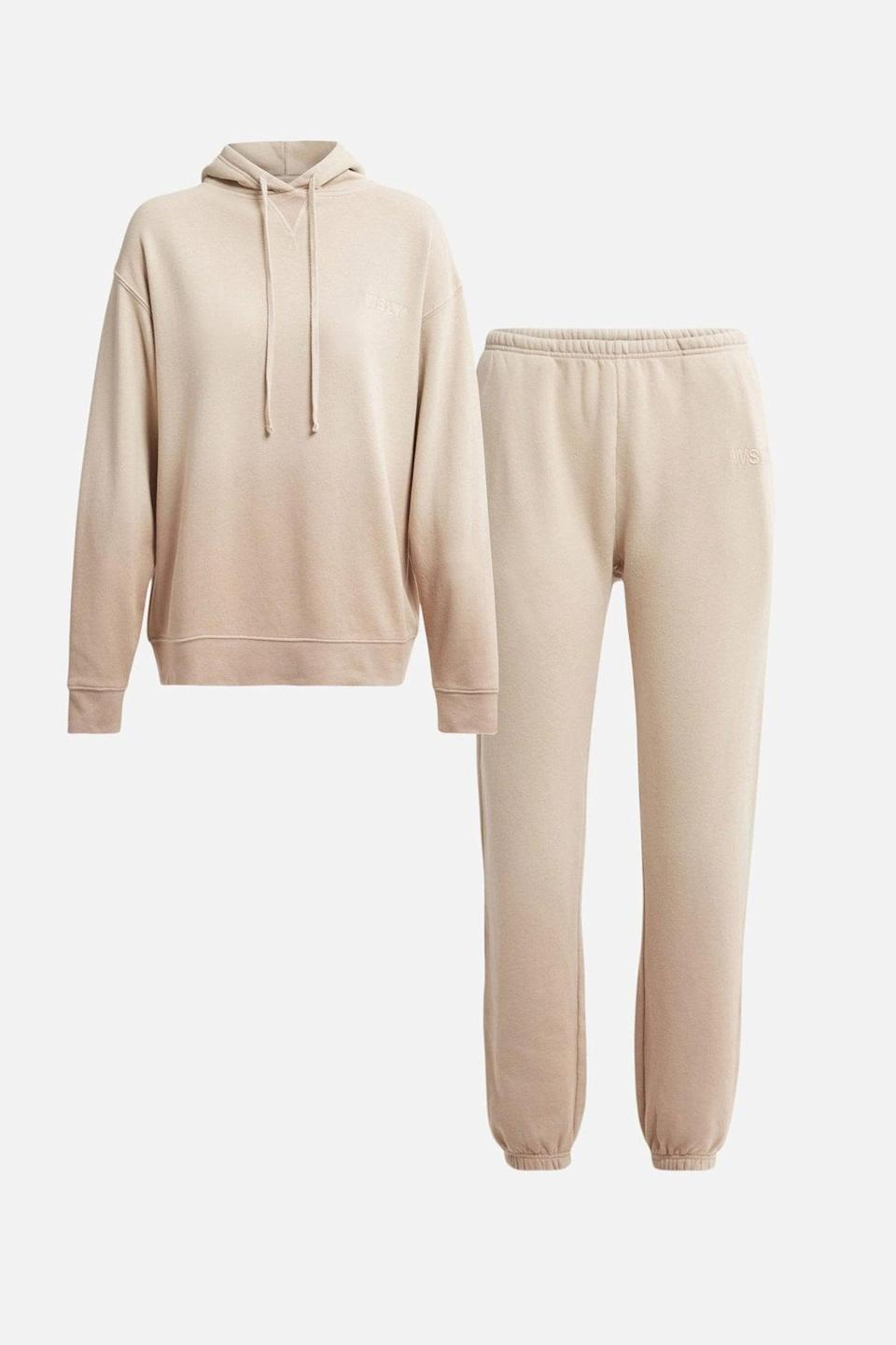 <p>Get yourself this comfy, cozy <span>WSLY The Sand Ombre Sweats Kit</span> ($259), and thank me later.</p>