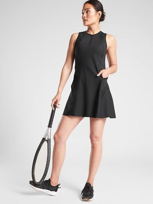 """<br><br><strong>Athleta</strong> Match Point Dress, $, available at <a href=""""https://go.skimresources.com/?id=30283X879131&url=https%3A%2F%2Fathleta.gap.com%2Fbrowse%2Fproduct.do%3Fpid%3D486471022%23pdp-page-content"""" rel=""""nofollow noopener"""" target=""""_blank"""" data-ylk=""""slk:Athleta"""" class=""""link rapid-noclick-resp"""">Athleta</a>"""