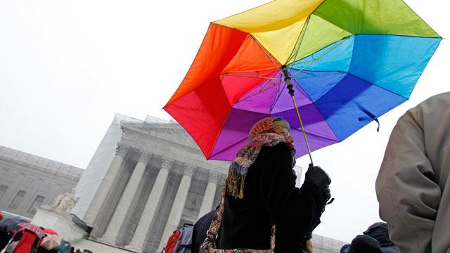 Supreme Court Justices Struggle With Federal Right to Gay Marriage