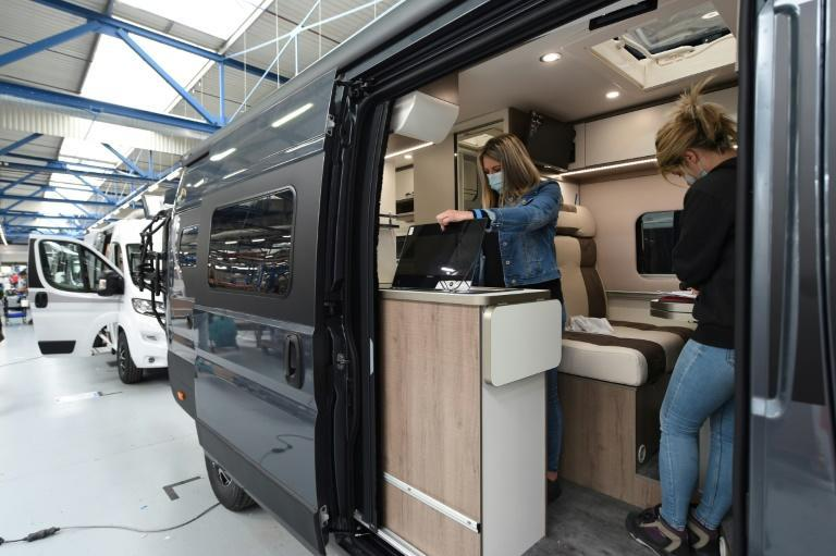 Sales of motorhomes have soared across the world in the past year