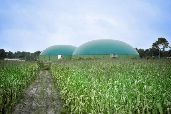 Biomethane production units
