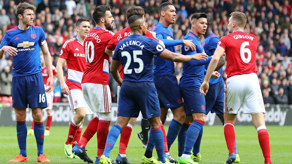 Manchester United Middlesbrough 2017