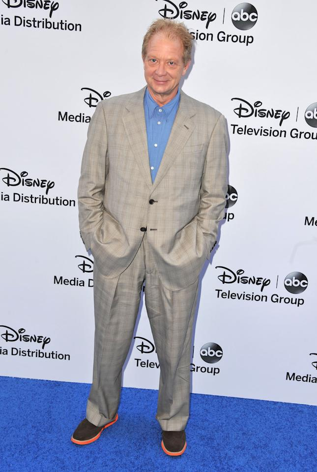 BURBANK, CA - MAY 19:  Actor Jeff Perry arrives at the Disney Media Networks International Upfronts at Walt Disney Studios on May 19, 2013 in Burbank, California.  (Photo by Angela Weiss/Getty Images)