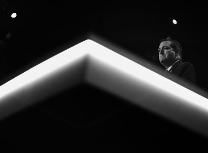 Sen. Ted Cruz speaks during the RNC Convention in Cleveland, Ohio, on July 20, 2016. (Photo: Khue Bui for Yahoo News)