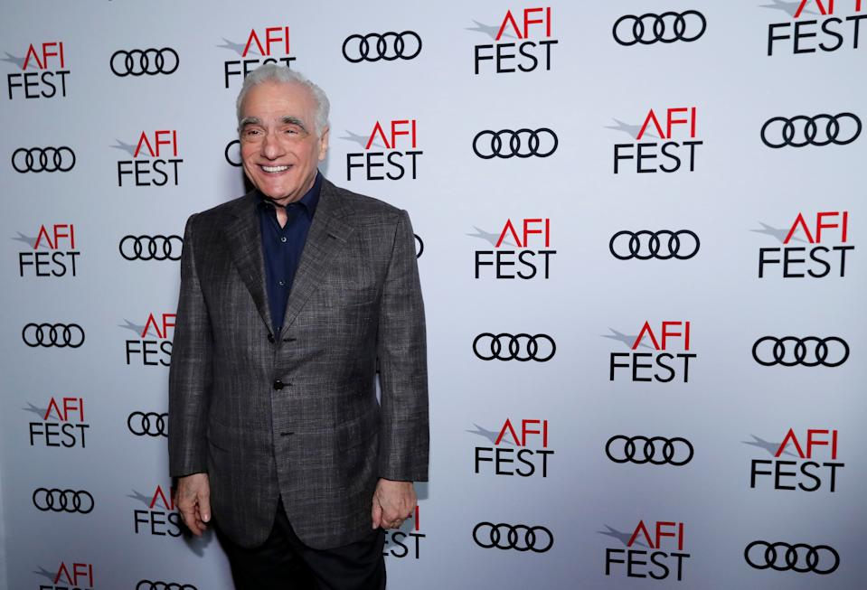 Director Martin Scorsese poses backstage after receiving a special tribute during AFI Fest 2019 in Los Angeles, California, U.S., November 15, 2019. REUTERS/Mario Anzuoni