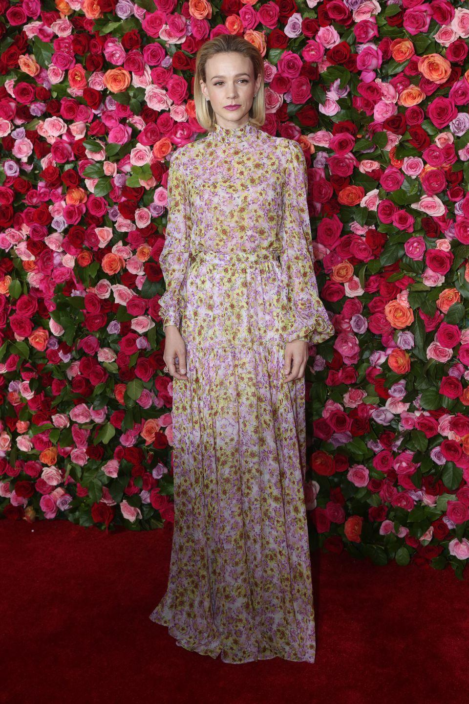 <p>The actress wore a Giambattista Valli gown at the Tony Awards in New York.</p>