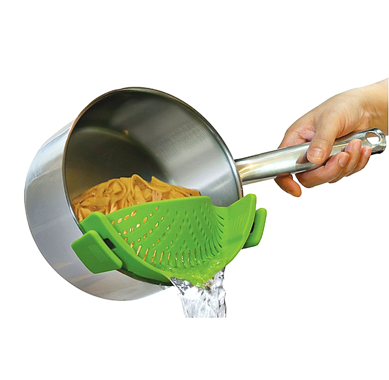 Kitchen Gizmo Snap 'N Strain Strainer (Photo: Walmart)