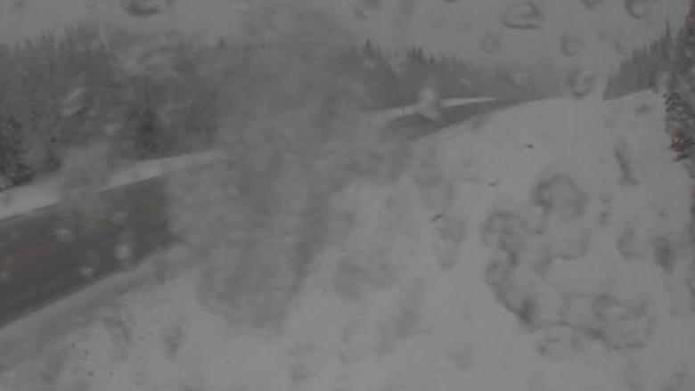 Wintry weather returns as 'major spring snowstorm' expected for northeast Alberta