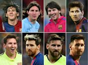 Messi arrived at Barca aged just 13 and if he does leave it will be the end of an era for Barcelona, with whom he has won 35 trophies