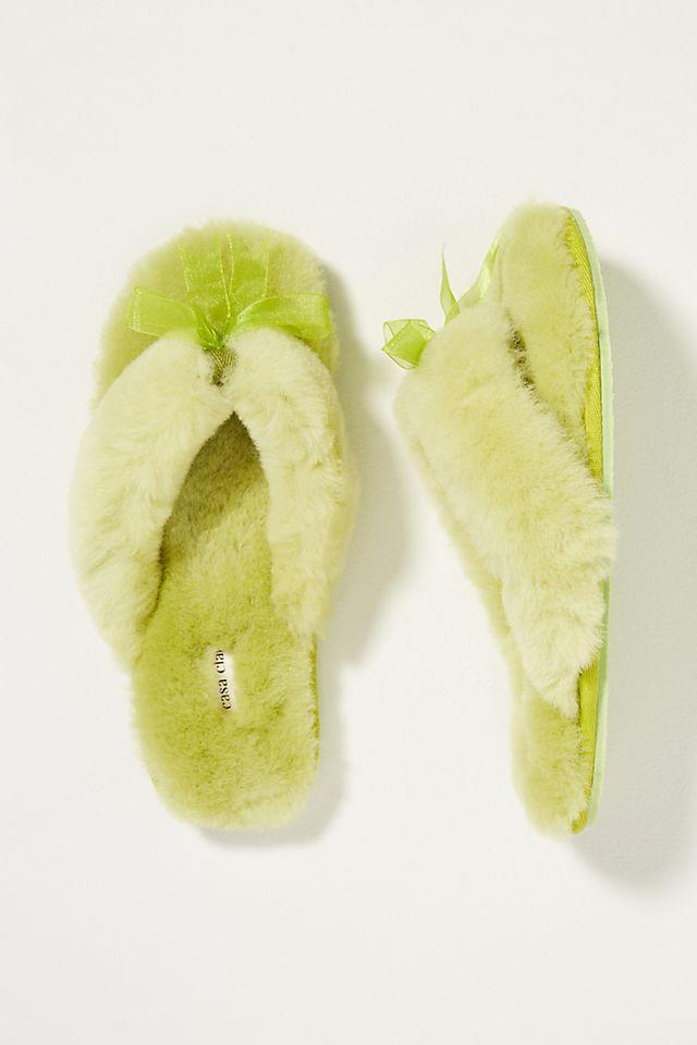 """<h2><a href=""""https://www.anthropologie.com/shop/olivia-shearling-slippers"""" rel=""""nofollow noopener"""" target=""""_blank"""" data-ylk=""""slk:Anthropologie Olivia Slippers"""" class=""""link rapid-noclick-resp"""">Anthropologie Olivia Slippers<br></a></h2><br>To really earn points in the in-law game, go for the ultimate treat for her feet. This luxe and fluffy pair of slippers is ideal for lazy Sunday mornings, evenings spent indoors, and everything in between.<br><br><strong>Casa Clara</strong> Olivia Shearling Slippers, $, available at <a href=""""https://go.skimresources.com/?id=30283X879131&url=https%3A%2F%2Fwww.anthropologie.com%2Fshop%2Folivia-shearling-slippers"""" rel=""""nofollow noopener"""" target=""""_blank"""" data-ylk=""""slk:Anthropologie"""" class=""""link rapid-noclick-resp"""">Anthropologie</a>"""