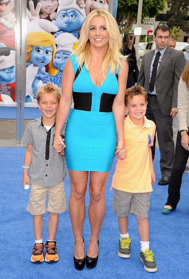 <p>Singer Britney Spears became a mother at 23. (Photo by Steve Granitz/WireImage) </p>