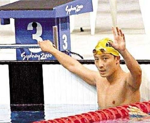 Alex had represented Hong Kong at the Sydney Olympics in 2000 as part of the HK Swimming team