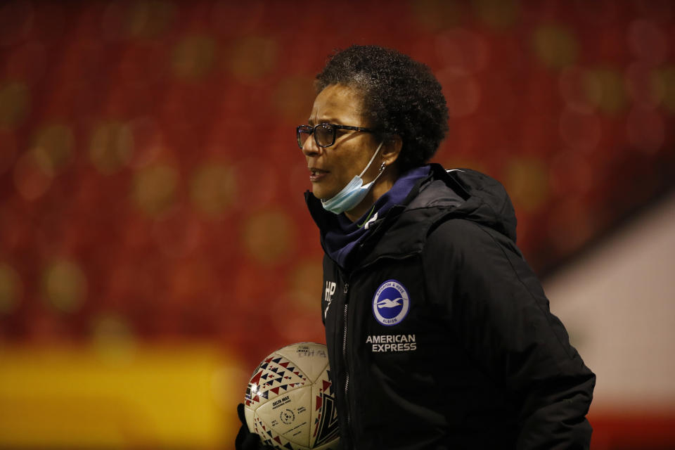 Hope Powell believes the landmark WSL TV deal will serve as a huge boost to the accessibility and inclusivity of women's football © Action Images via Reuters