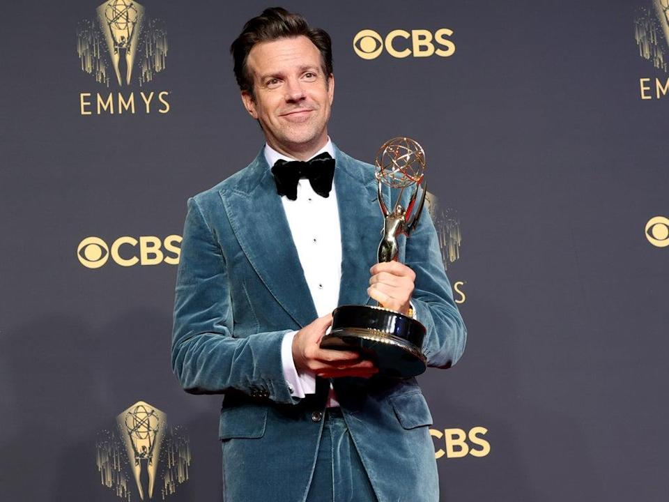Jason Sudeikis at the Emmys (Rich Fury/Getty Images)